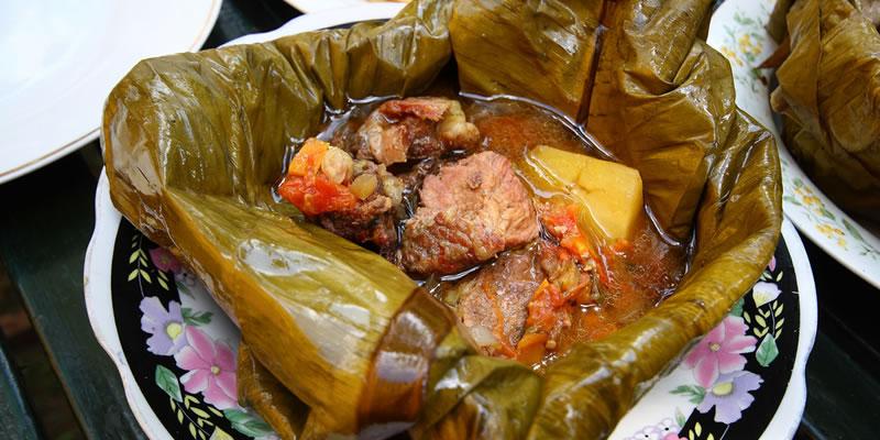 Local food in Kampala