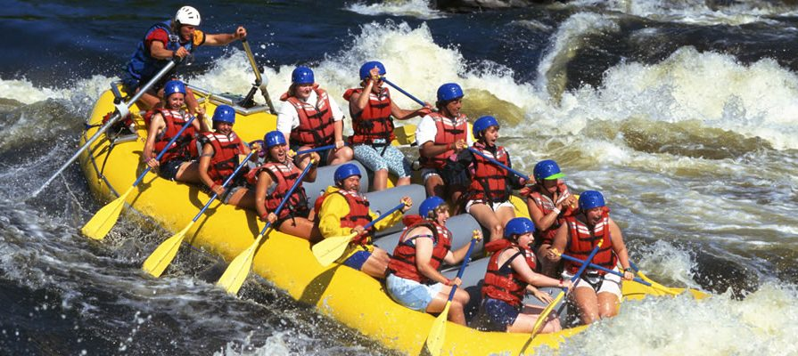 White Water Rafting in Jinja